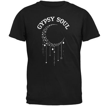 Halloween Gypsy Soul Crescent Moon Mens T Shirt
