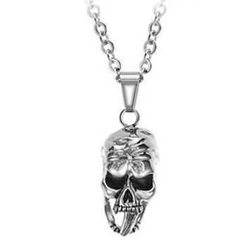 Skull Pendant 316L Stainless Steel Necklace