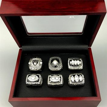 FGHGF new classic zinc alloy champion ring Auckland Raiders 1976 championship ring men and women fans commemorative gifts