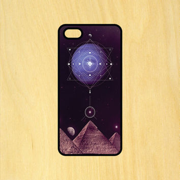 Pyramids Flower of Life Mandala Phone Case iPhone 4 / 4s / 5 / 5s / 5c /6 / 6s /6+ Apple Samsung Galaxy S3 / S4 / S5 / S6