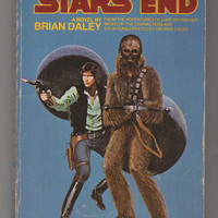 1979 Han Solo at Star's End; 1st Paperback Edition, Brian Daley. VF-.  Del Rey Books