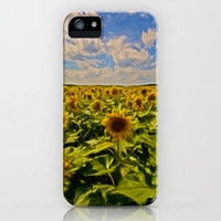 Sunny sunflowers  iPhone Case by Cozmic Photos | Society6