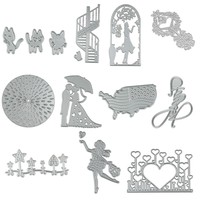 2017 New Frame Metal Cutting Dies Stencils For DIY Scrapbooking Photo Album Decorative Embossing DIY Paper Cards Craft Die Cuts