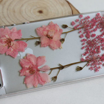 Unique Real Pressed flower iPhone 6 case, iPhone 6 plus case, iPhone 5 case, iPhone 5s case, iPhone 5c case, iPhone 4s cases