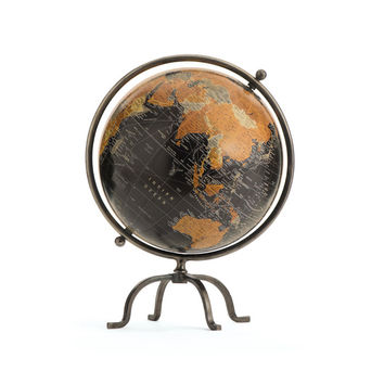 Carlyle Globe IRON/WOOD