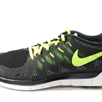 Nike Men's Free 5.0 2014 Black/Volt Running Shoes 642198 007