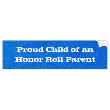 Proud Child Bumper Sticker
