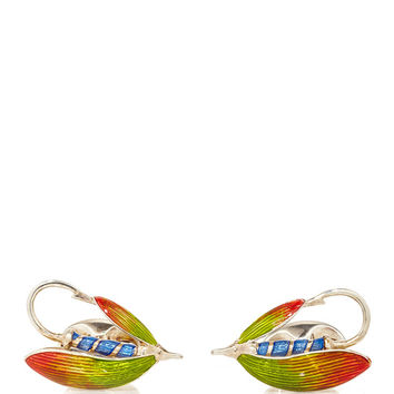 Camilla Dietz Bergeron Fly Fishing Cufflinks