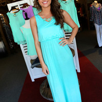 Headed To The Islands Maxi {Mint}