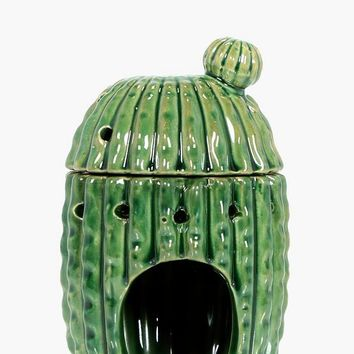 Cactus Tea Light Holder & Oil Burner | Boohoo