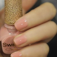 [589] Milky Pink Sweet Color 12ml Nail Polish