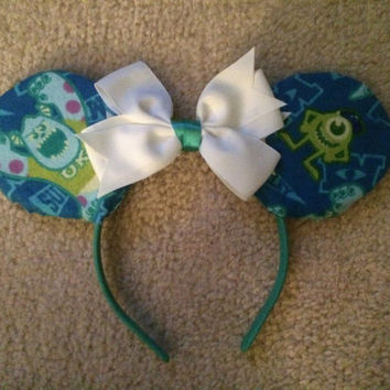 Monster's Inc Style Mickey/Minnie Ears