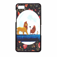 The Lion King Disney Floral BlackBerry Z10 Case
