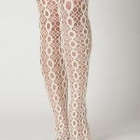 Battenburg Tights - Anthropologie.com