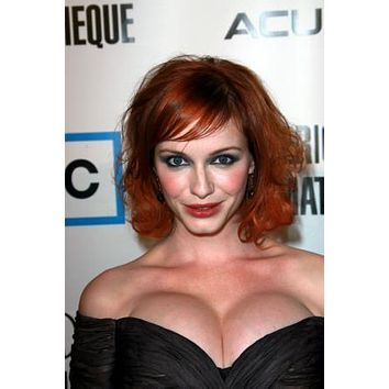 "Christina Hendricks Poster Low Cut Cleavage 24""x36"""