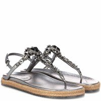 Neal embellished leather sandals