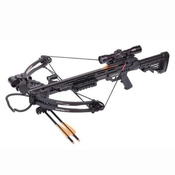 Sniper Black Crossbow 4x32