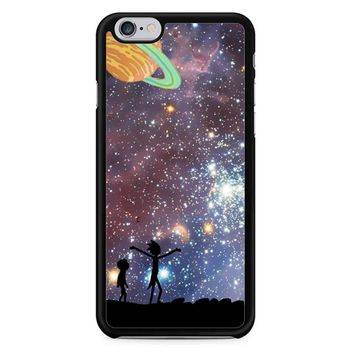 Rick And Morty Galaxy P iPhone 6/6S Case