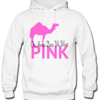 on hump days we wear pink Hoodie