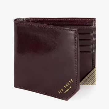 Ted Baker - Mighted Bi-Fold Wallet (Chocolate)
