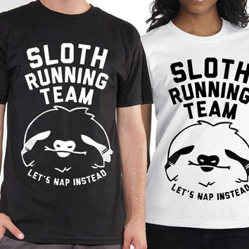 Sloth Running Team tshirt