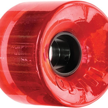 Oj III Hot Juice 78a 60mm Trans Red Skate Wheels
