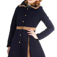 One for the Storybooks Coat | Mod Retro Vintage Coats | ModCloth.com