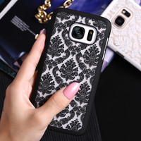 FLOVEME Brand New Beautiful Floral Henna Paisley Mandala Palace Flower Phone Cases Cover For Samsung Galaxy S7 G9300 Capa Shell