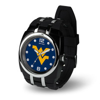West Virginia Mountaineers NCAA Crusher Series Mens Watch