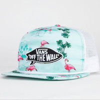 VANS Pink Flamingo Mens Trucker Hat