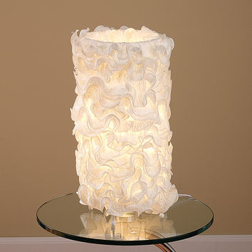 Lace Table Lamp Cream by Lumisource