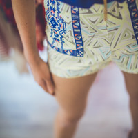 Aztec Hipsters Shorts in Multi