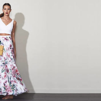 Azalea Floral Two Piece -