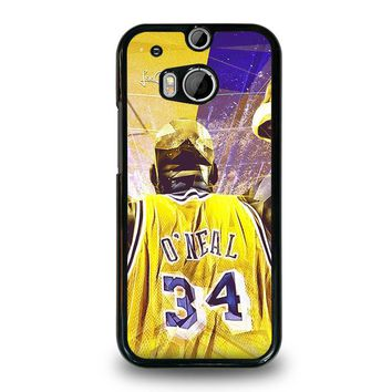 SHAQUILLE O'NEAL LA LAKERS  HTC One M8 Case Cover