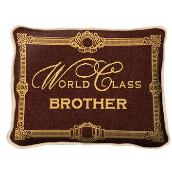 Pure Country Weavers World Class Brother Decorative Pillow