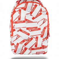 Hello Friends Backpack | Sprayground Backpacks, Bags, and Accessories