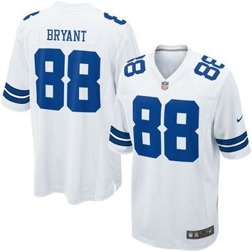 Youth Dallas Cowboys Dez Bryant Nike White Game Jersey