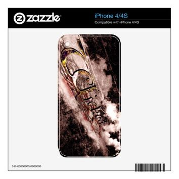 Wicked iPhone 4 Decal