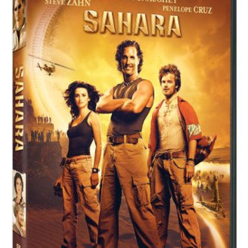 Sahara 2005 Movie DVD Widescreen Collection Used Matthew McConaughey, Penelope Cruz UPC097363418146