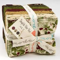 Through the Winter Woods by Holly Taylor for Moda Fabrics, Fat Quarter Bundle