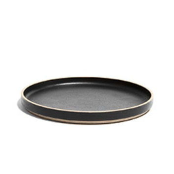 Large Hasami Porcelain Plate (Black)