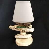 BoGaLeCo.com / Ligths / Lamps / driftwood / Small lamp driftwood classic