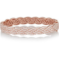 Anita Ko - Braid 18-karat rose gold diamond bracelet