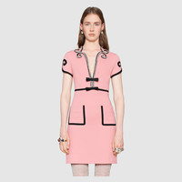 Gucci Viscose jersey dress with crystals