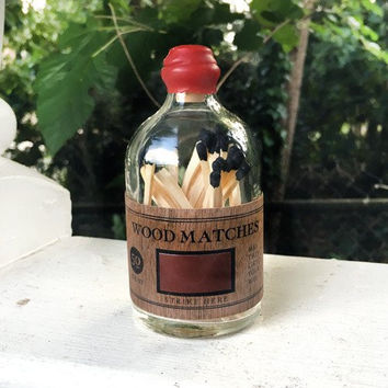Matches Rustic Small