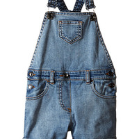 Dolce & Gabbana Kids Denim Coveralls in Light Blue (Toddler/Little Kids)