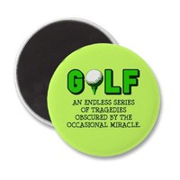 THE DEFINITION OF GOLF REFRIGERATOR MAGNET from Zazzle.com