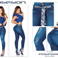 100%  Authentic Colombian  Push Up Jeans  8995  by Gales (R)