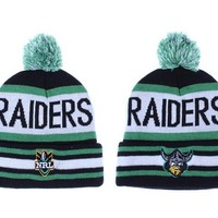 hcxx Canberra Raiders Beanies NRL Football Hat