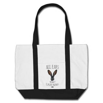 All Ears Baby Design by Kat Worth Tote Bag